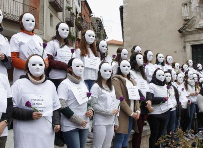 Cuéllar se sumó a los actos contra la violencia de género