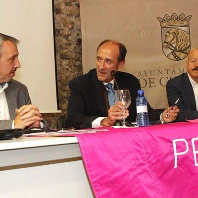 Los encierros de interés internacional de Cuéllar, Pamplona y Segorbe, juntos en las Jornadas de El Encierro