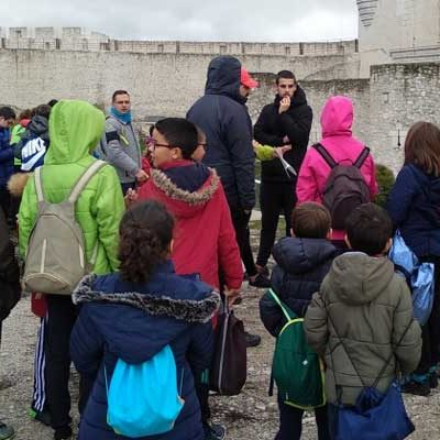 Más de 200 escolares participaron en la primera jornada de orientación deportiva en Cuéllar
