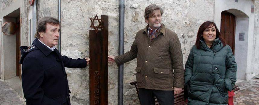 La concejalía de Turismo señaliza la ubicación de la antigua sinagoga de Cuéllar