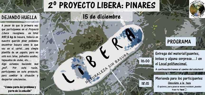 La Asociación Cultural El Cega continuará limpiando el entorno de Mata de Cuéllar con el proyecto Libera