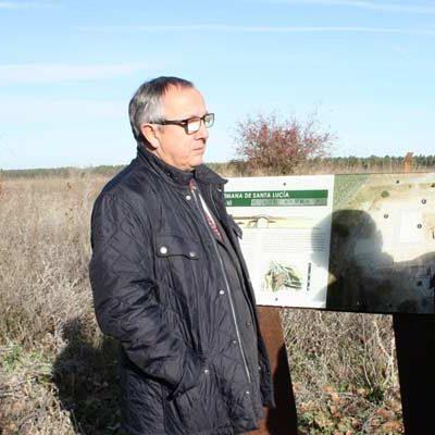 La Junta realiza la señalización didáctica del yacimiento arqueológico de la villa de Santa Lucía en Aguilafuente