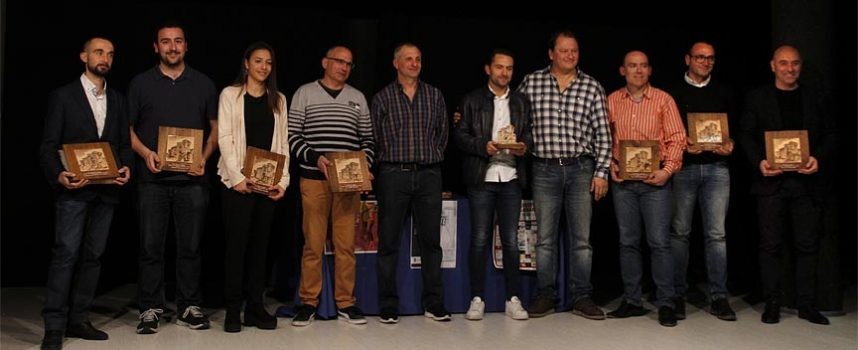 El Club Atlético Cuéllar premió a los mejores del deporte en 2018