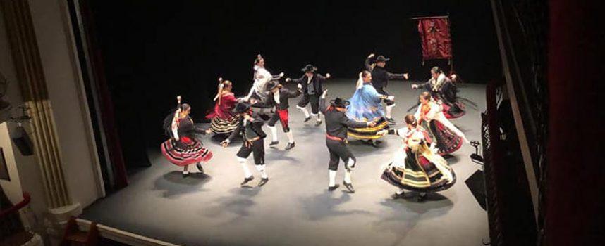 El Grupo de Danzas Villa de Cuéllar, ganador del V Certamen de Danzas Emperador Teodosio