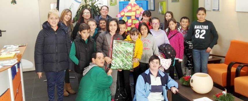 Fundación Personas abrió sus puertas a los alumnos del CEIP Santa Clara