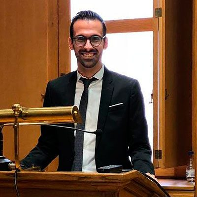El cuellarano Gregorio Laguna premiado por la Real Academia de Medicina y Cirugía de Valladolid por su tesis doctoral