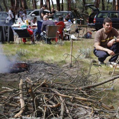 La Junta anula la autorización para hacer fuego el domingo en los pinares cuellaranos