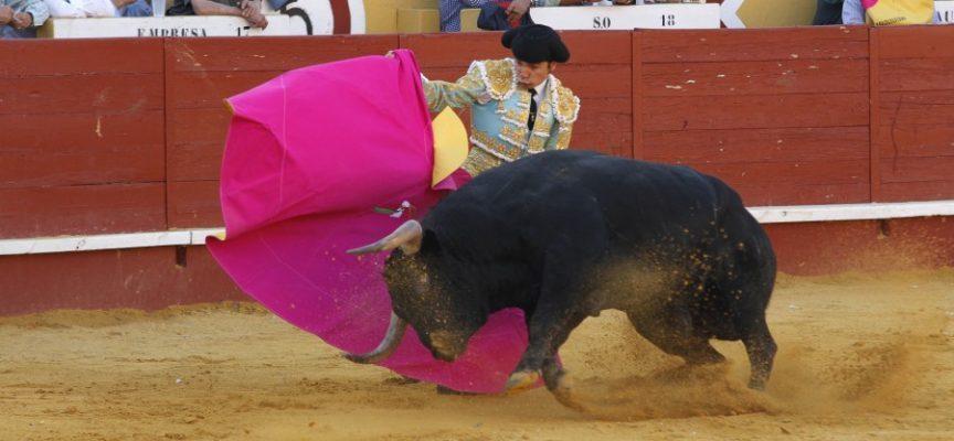 El torero cuellarano en la feria del pasado año