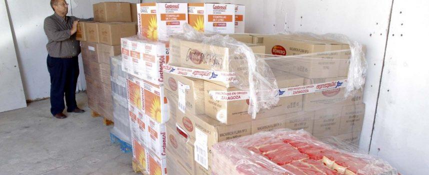 Sesenta y tres familias se beneficiarán de una nueva entrega de alimentos del centro municipal