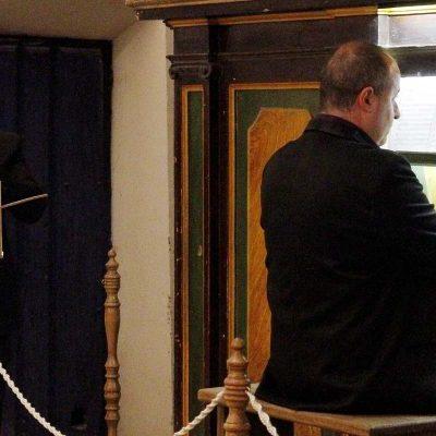 La iglesia de San Andrés acoge hoy el concierto fin de año con el órgano como protagonista