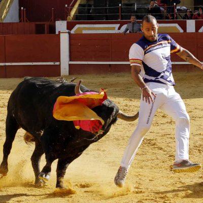 """Emoción y riesgo en el certamen de cortes """"Dioses en la arena"""" que ganó  el madrileño Rubén Fernández """"Cuatío"""""""