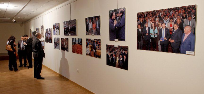"""La sala Cronista Herrera acoge la muestra """"Un año en imágenes"""" de El Norte de Castilla"""