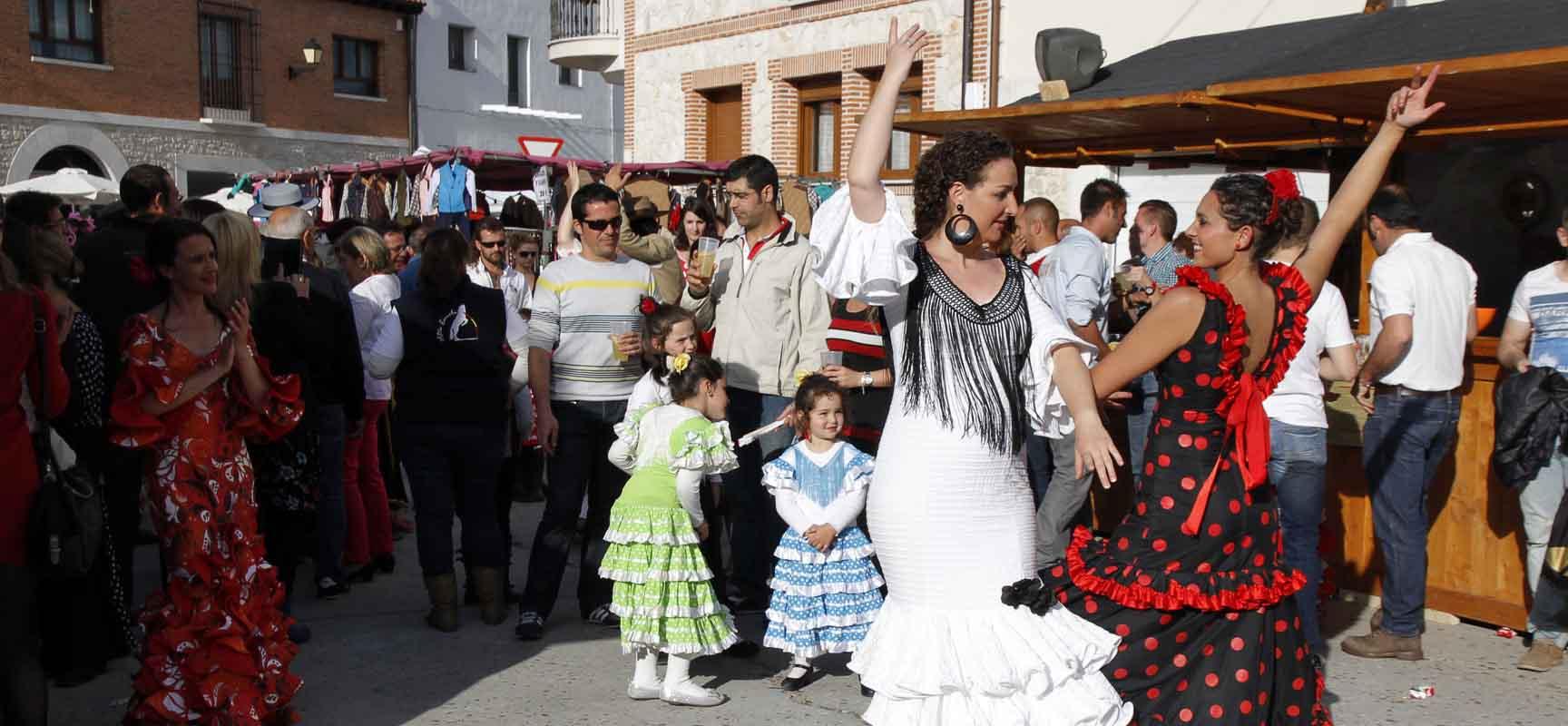 Mucho público se dio cita para disfrutar de esta Feria Flamenca.
