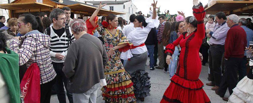 Gran participación en la I Feria Rociera de Cuéllar