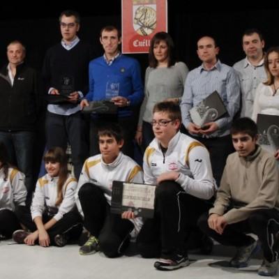La sala Alfonsa de la Torre acogerá mañana la Gala del Deporte de Cuéllar