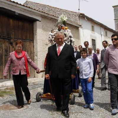 Danzas en honor al Patrocinio de San José en Dehesa de Cuéllar