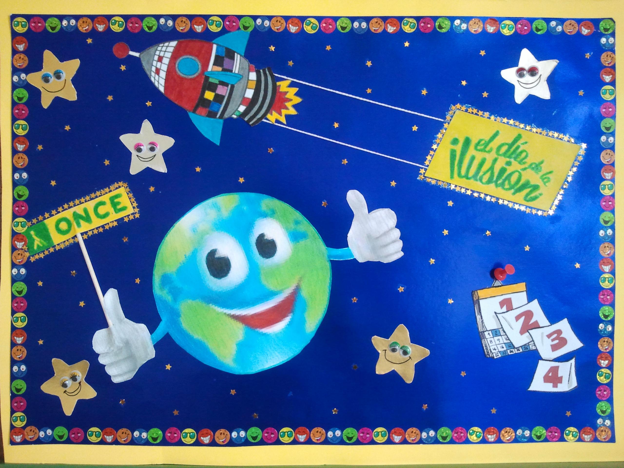 Cartel elaborado por los alumnos de San Gil para este certamen.