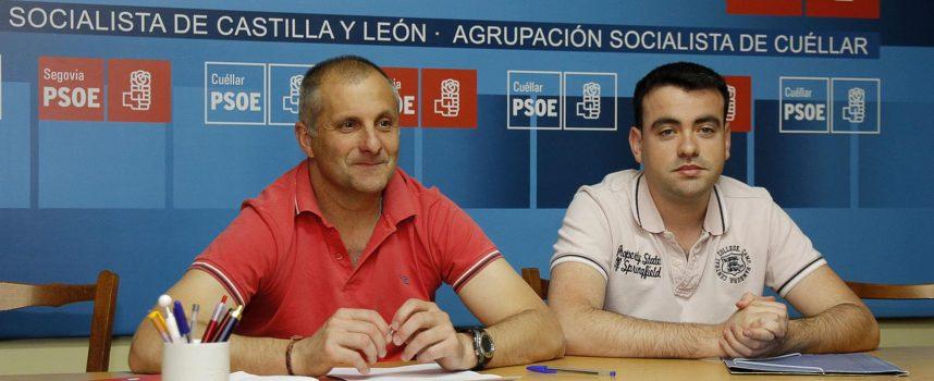 """El PSOE considera """"preocupante, por no decir crítica"""" la situación municipal de Cuéllar"""
