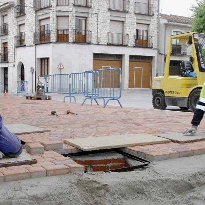 La Plaza de San Gil tendrá un único sentido del tráfico tras su acondicionamiento
