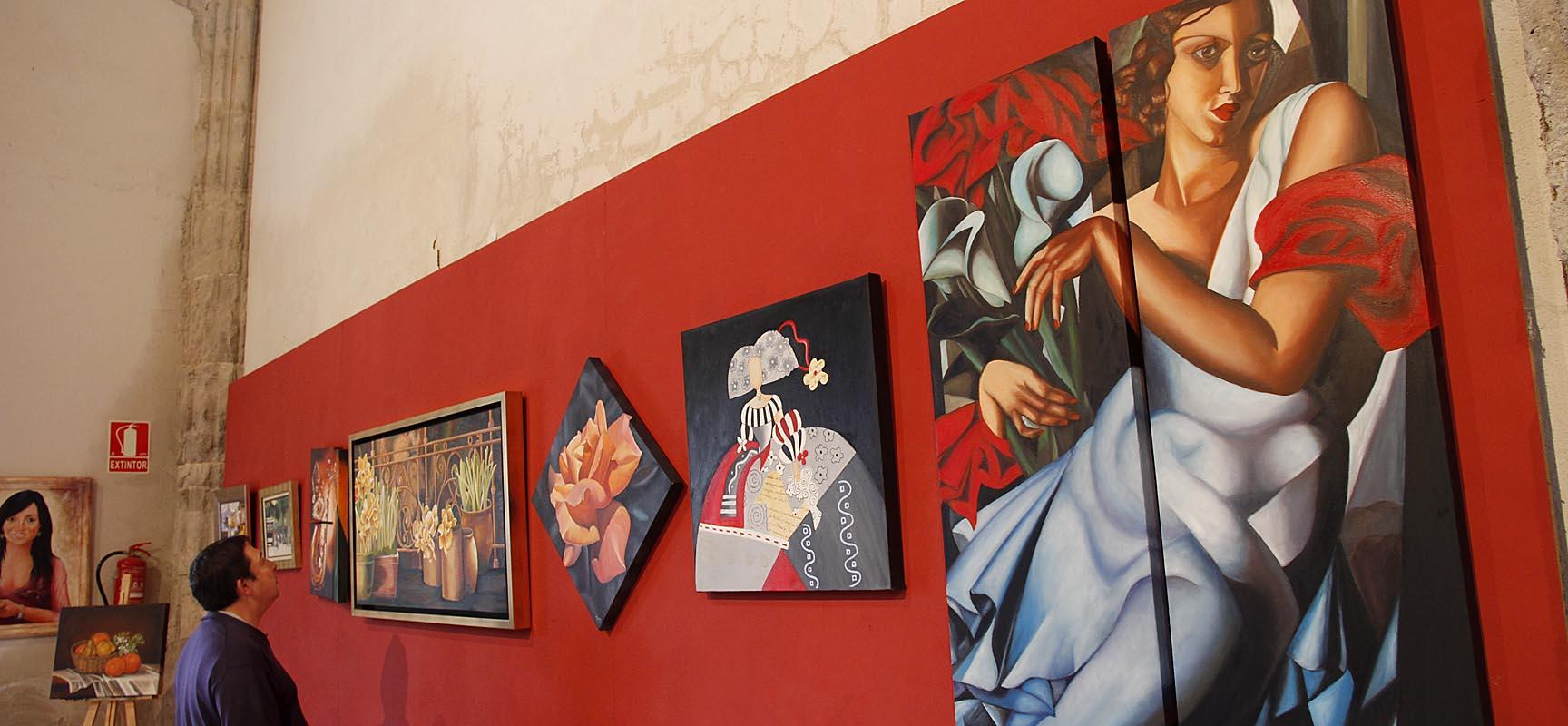 Algunos de los trabajos que pueden verse hasta el domingo en San Francisco.