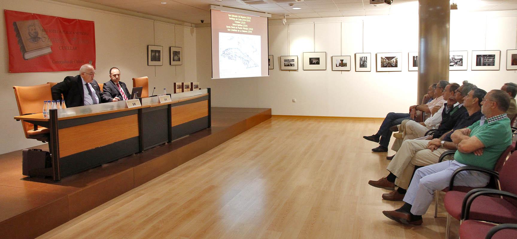 Las Jornadas tuvieron lugar en la sala cultural Cronista Herrera.