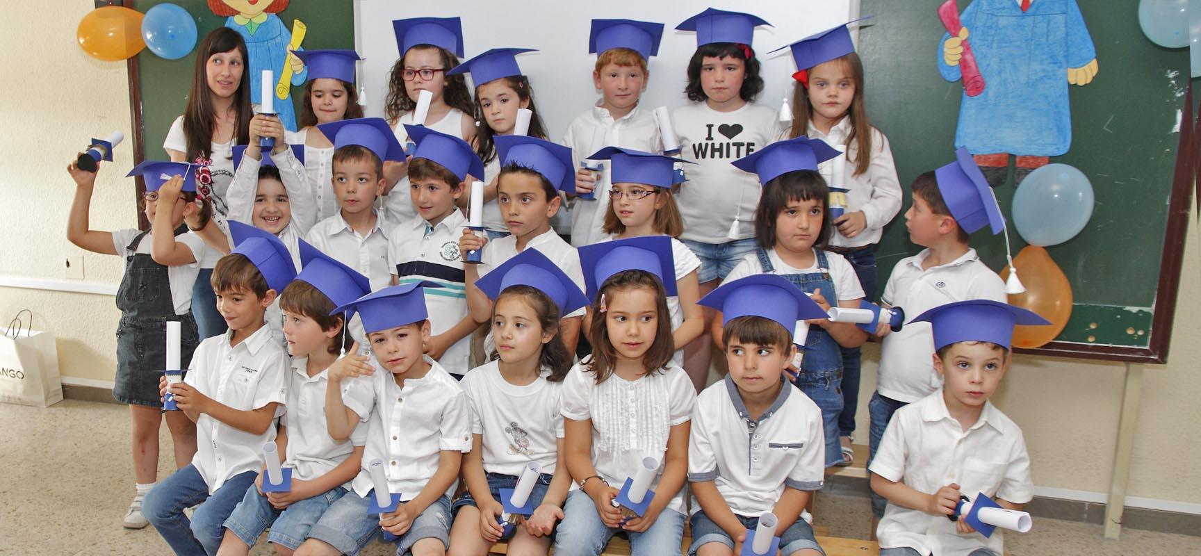 Graduados del CEIP San Gil.