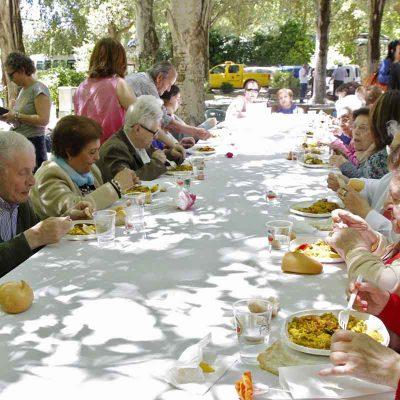 La Huerta del Duque, punto de encuentro para más de 300 mayores