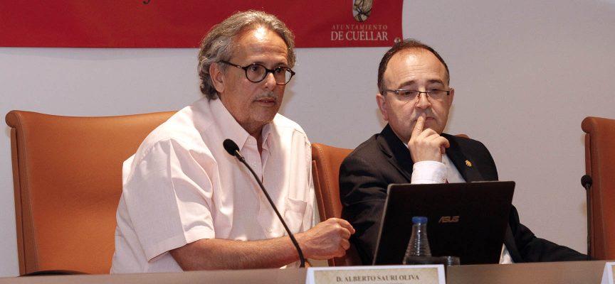 Alberto Sauri durante su intervención.
