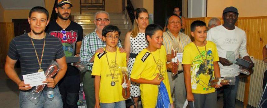 Alberto García Dorado vencedor del VII Torneo de Ajedrez de Carbonero el Mayor