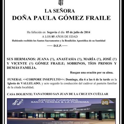 Paula Gómez Fraile