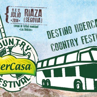 Huercasa Country Festival contará con autobuses gratuitos desde Cuéllar hacia Riaza