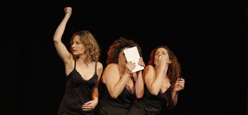 Las Chirigóticas durante su actuación en San Francisco.