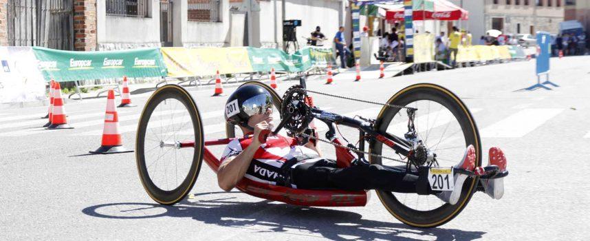 La Copa del Mundo de Paraciclismo se desarrollará el viernes y el sábado en Cuéllar