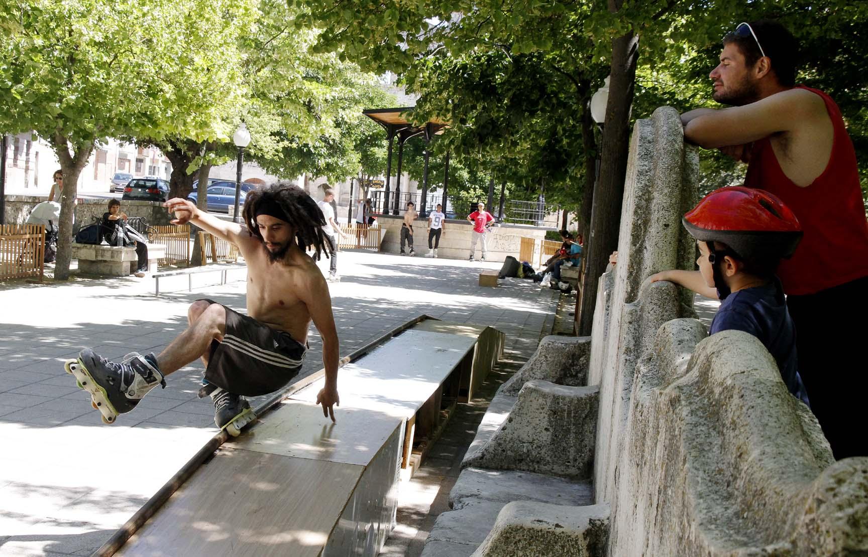 """La concentración de """"skate"""" se celebrará en los Paseos de San Francisco"""