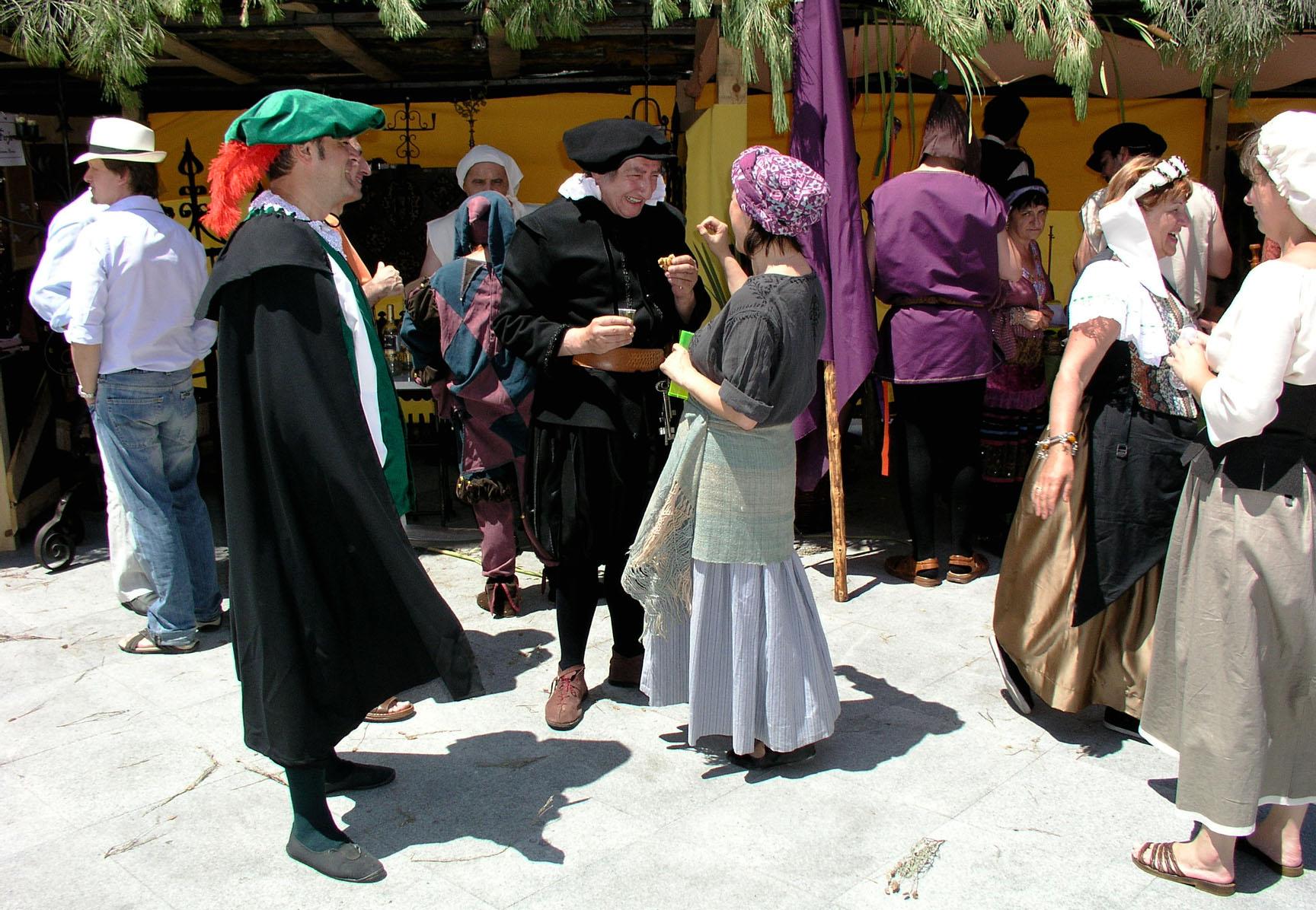 Imagen de archivo del Mercado Medieval de Sanchonuño