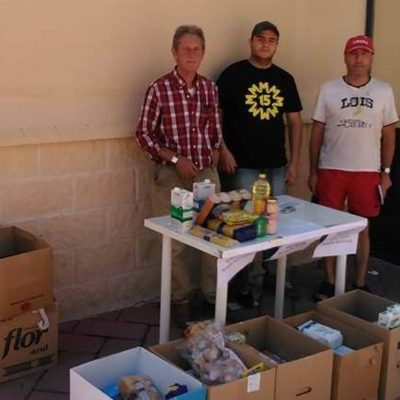 El Centro Solidario organiza una nueva campaña de recogida de alimentos