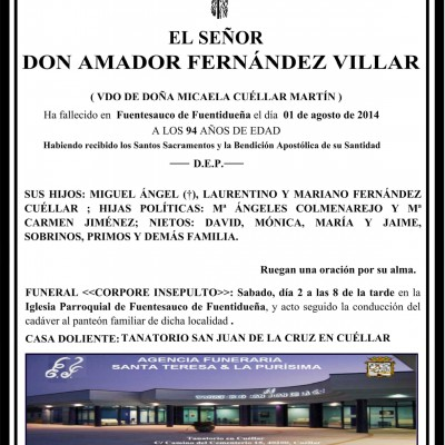 Amador Fernández Villar