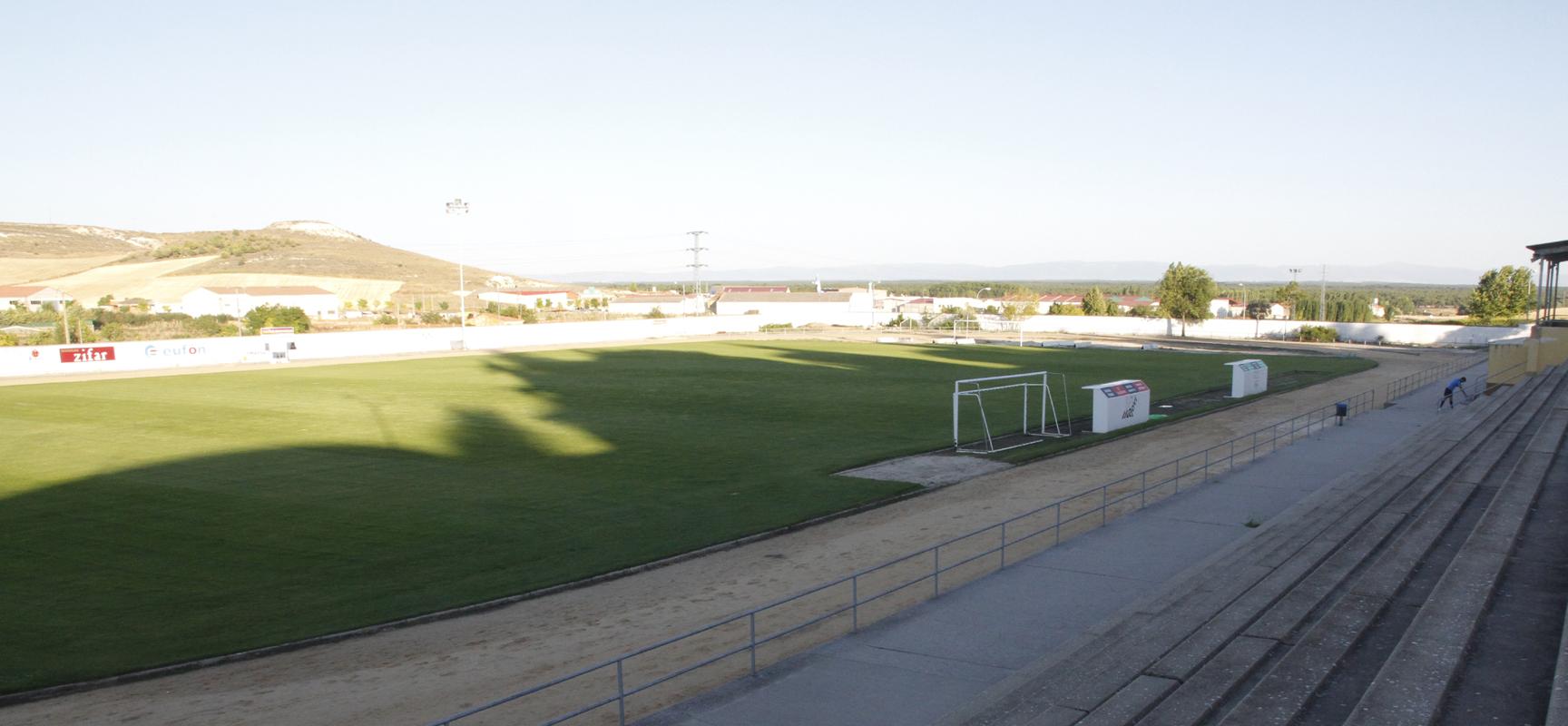 Campo municipal de Santa Clara donde se disputará el encuentro.
