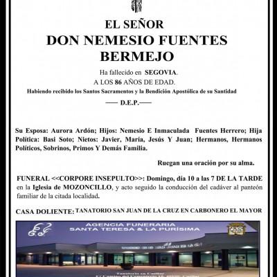Nemesio Fuentes Bermejo