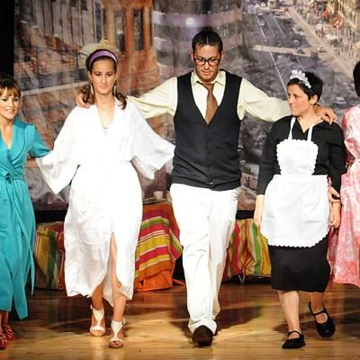 """La Mina Teatro estrena el domingo su comedia """"Todas somos compañeros"""" en Carbonero el Mayor"""
