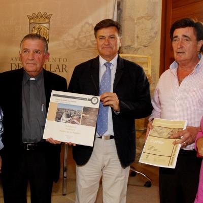 Diputación, Obispado y Ayuntamiento afianzan su apuesta por la candidatura de Cuéllar a las Edades del Hombre de 2016