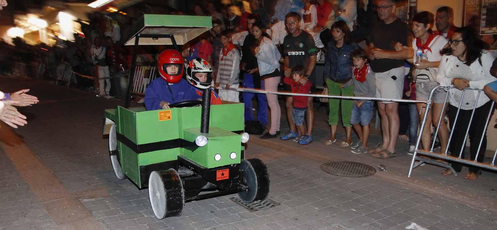 Uno de los vehículos participantes en la edición de 2013 del concurso.