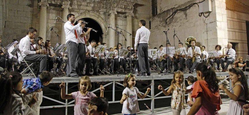 """El concierto """"A por Ellos"""" de la Banda de Música señala mañana la proximidad de las fiestas de Cuéllar"""