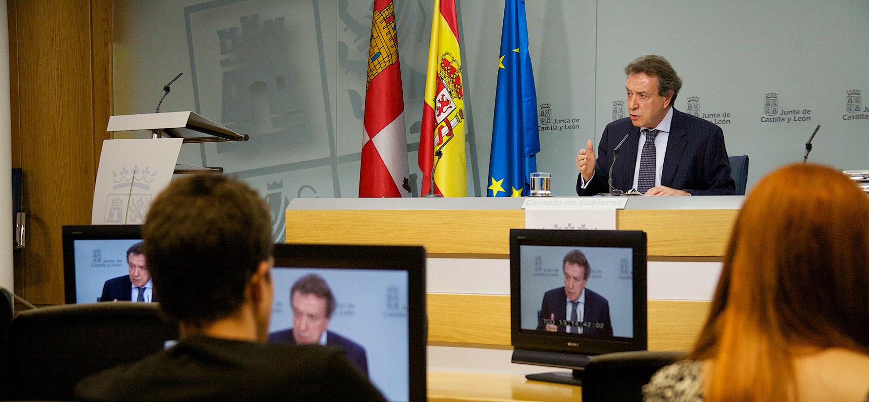 Rueda de prensa posterior al Consejo de Gobierno.
