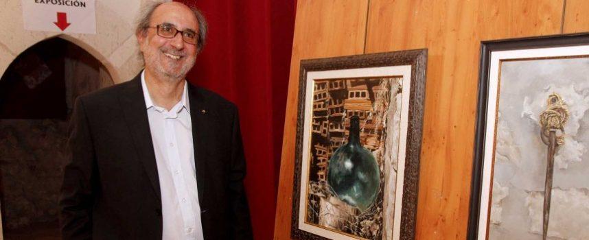 José Luis Llorente vuelve a la iglesia de San Francisco de Cuéllar con sus óleos y pinceles