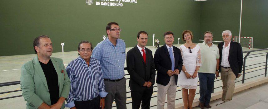 Sanchonuño inaugura su polideportivo tras siete años de obras