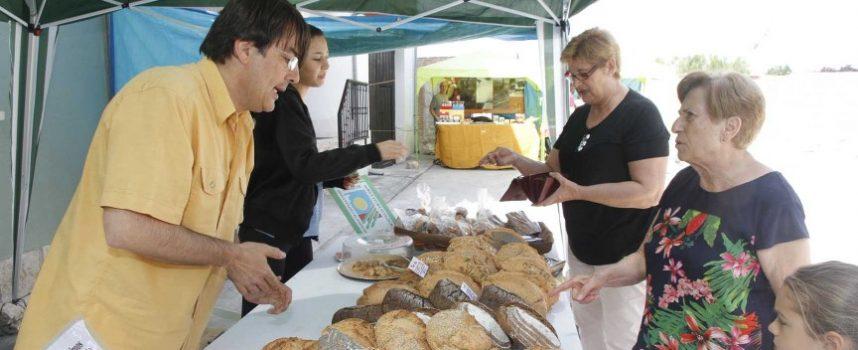 Campo de Cuéllar acercó los productos ecológicos a los vecinos de la comarca