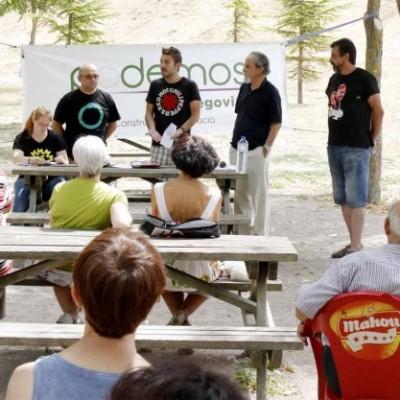 El Círculo Podemos Cuéllar celebra su segunda asamblea en el Centro Solidario
