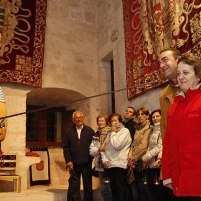 Los personajes del Castillo pasarán la Navidad en la villa hasta el domingo 27 de diciembre