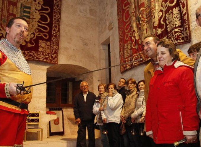 Turismo estrena hoy las visitas teatralizadas nocturnas al Castillo